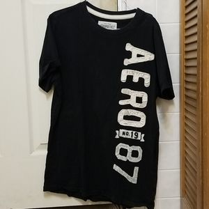 Large Black Aeropostale Shirt